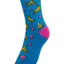 Banános-pöttyös zokni, Garantáltan feldobja a hangulatot ez az üde, csa...