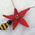 A nagy vonzás- nyaklánc méhecskével (LEFOGLALVA Beának), Egy állatos sorozat újragondolása, vagy talán ...