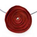 piros poppys nyaklánc, Ékszer, óra, Nyaklánc, piros poppys nyaklánc 5,5-6 cm átmérő SZÁLLÍTÁS A termék megvásárlása ELŐTT mindenképpen beszéljük m..., Meska