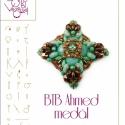 BTB Ahmed... medál minta egyéni felhasználásra, Mindenmás, Csináld magad leírások, BTB Ahmed medál  A minta tartalma Részletes lépésről-lépésre képeket és ugyancsak részletes szöveges..., Meska