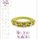 Tile Joe karkötő... minta egyéni felhasználásra, Ékszer, óra, Karkötő, Tile Joe a Flower Punk Joe karkötőm megszelidítése.  A minta tartalmaz: Részletes lépésről-lépésre k..., Meska
