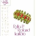 Rulla P. Roland karkötő... , Ékszer, óra, Mindenmás, Medál, Csináld magad leírások, Rulla P. Roland karkötő spagetti és rulla gyöngyökre kreálva.  A minta tartalmaz: Részletes lépésről..., Meska
