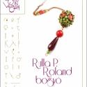 Rulla P. Roland bogyó... minta egyéni felhasználásra, Ékszer, óra, Mindenmás, Medál, Csináld magad leírások, Rulla P. Roland bogyó spagetti és rulla gyöngyökre kreálva.  A minta tartalmaz: Részletes lépésről-l..., Meska