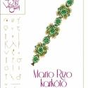 MarioRizo karkötő... minta egyéni felhasználásra, Ékszer, óra, Karkötő, MarioRizo karkötő  A minta tartalmaz: Részletes lépésről-lépésre képeket és ugyancsak részletes szöv..., Meska