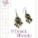 P. Derrick fülbevaló... minta egyéni felhasználásra, Mindenmás, Csináld magad leírások, P. Derrick fülbevaló  A minta tartalmaz: Részletes lépésről-lépésre képeket és ugyancsak részletes s..., Meska