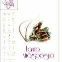 Lauro virágbogyó... minta egyéni felhasználásra, Ékszer, Mindenmás, Medál, Csináld magad leírások, Lauro virágbogyó spagetti és csiszolt gyöngyökre kreálva.  A minta tartalmaz: Részletes lépésről-lép..., Meska