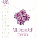 Brodolf medál... minta egyéni felhasználásra, Brondolf medál  A minta tartalmaz: Részletes lé...