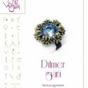 Ditmer gyűrű... minta egyéni felhasználásra, Ékszer, óra, Mindenmás, Medál, Csináld magad leírások, Mindenmás, Ditmer gyűrű  A minta tartalmaz: Részletes lépésről-lépésre képeket és ugyancsak részletes szöveges..., Meska