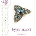 Reuel medál... minta egyéni felhasználásra, Reuel medál  A minta tartalmaz: Részletes lépé...