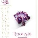 Rayan gyűrű... minta egyéni felhasználásra, Ékszer, óra, Rayan gyűrű  A minta tartalma Részletes lépésről-lépésre képeket és ugyancsak részletes szöveges mag..., Meska