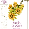 Karolis virágfüzér... minta egyéni felhasználásra, Mindenmás, Csináld magad leírások, Karolis virágfüzér   A minta tartalmaz: Részletes lépésről- lépésre képeket és ugyancsak részletes s..., Meska