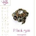 P. Enok gyűrű... minta egyéni felhasználásra, Mindenmás, Csináld magad leírások, P. Enok gyűrű   A minta tartalmaz: Részletes, lépésről-lépésre képeket és ugyancsak részletes szöveg..., Meska