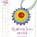 Rainbow medál... minta egyéni felhasználásra, Rainbow medál  A minta tartalmaz: Részletes lép...