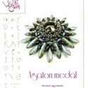 Agaton medál... minta egyéni felhasználásra, Mindenmás, Ékszer, óra, Csináld magad leírások, Medál, Agaton medál  A minta tartalmaz: Részletes lépésről-lépésre képeket és ugyancsak részletes szöveges ..., Meska