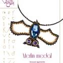 Merlin a denevér minta egyéni felhasználásra, Mindenmás, Csináld magad leírások, Merlina denevér medál minta A minta tartalmaz: Részletes lépésről-lépésre képeket és ugyancsak részl..., Meska