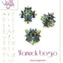 Warwick bogyóminta egyéni felhasználásra, Mindenmás, Csináld magad leírások, Warwick bogyó  A minta tartalma Részletes lépésről-lépésre képeket és ugyancsak részletes szöveges m..., Meska