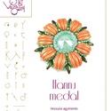 Hannu medál... minta egyéni felhasználásra, Mindenmás, Csináld magad leírások, Hannu medál  A minta tartalmaz: Részletes lépésről- lépésre képeket és ugyancsak részletes szöveges ..., Meska