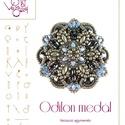 Odilon medál .. minta egyéni felhasználásra, Odilon medál  A minta tartalma Részletes lépés...