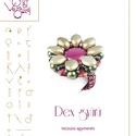 Dex gyűrű... minta egyéni felhasználásra, Ékszer, Gyűrű, Dex gyűrű  A minta tartalmaz: Részletes lépésről-lépésre képeket és ugyancsak részletes szöveges mag..., Meska