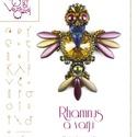 Rhamnus a varjú .. minta egyéni felhasználásra, Mindenmás, Csináld magad leírások, Rhamnus a varjú A minta tartalma Részletes lépésről-lépésre képeket és ugyancsak részletes szöveges ..., Meska