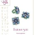 Batonur gyűrű minta egyéni felhasználásra, Mindenmás, Csináld magad leírások, Batonur gyűrű  A minta tartalmaz: Részletes lépésről-lépésre képeket és ugyancsak részletes szöveges..., Meska