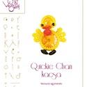 Quickie Chan a kacsa .. minta egyéni felhasználásra, Mindenmás, Ékszer, Csináld magad leírások, Quickie Chan a kacsa  A minta tartalmaz: Részletes lépésről-lépésre képeket és ugyancsak részletes s..., Meska