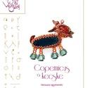 Kopernikusz a kecske... minta egyéni felhasználásra, Ékszer, Kopernikusz a kecske  A minta tartalma Részletes lépésről-lépésre képeket és ugyancsak részletes szö..., Meska