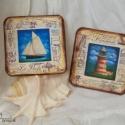 Tengeri dekoráció, Tengeri témájú dekoráció. Akár a tenger, a v...