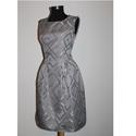 Ezüst princess ruha 36-os méret, Ruha, divat, cipő, Női ruha, Ruha, Varrás, Egy darab létezik ebből a princess ruhából, teljesen egyedi darab!  Az anyagot egy dekorboltban tal..., Meska