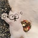 Simon's cat figura ajándék karácsonyi csomagolással!, Játék, Dekoráció, Plüssállat, rongyjáték, Játékfigura, Hamarosan itt a karácsony, lepd meg szeretteidet, barátodat egy Simon's cat népszerű figurával! :) M..., Meska
