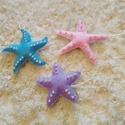 Tengeri csillagok/ lakás dekoráció, Otthon, lakberendezés, Dekoráció, Játék, Dísz, Ezeket a szép színes tengeri csillagokat kézzel varrtam, méretük 8-10 cm között van. Az ár tartalmaz..., Meska