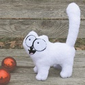 """Simon's cat/   """"S"""" méret wellsoft anyagból Simon cicája/ macska 3D plüss figura, Játék, Férfiaknak, Plüssállat, rongyjáték, Játékfigura, Simon's cat nagyon népszerű mesefigura, mit kell tudni róla?  Puha wellsoft anyagból kézzel varrtam,..., Meska"""