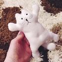 """Simon's cat plüss cica """"álló"""" mesefigura, Játék, Dekoráció, Férfiaknak, Plüssállat, rongyjáték, Ki is az a Simon's cat? :)  """"Az első dolgunk, hogy megbeszéljük, ki is ez a Simon's Cat. A szó jelen..., Meska"""