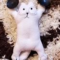 Tapadókorongos/ ablakra tapadó Simon's cat plüss cica, Játék, Dekoráció, Férfiaknak, Plüssállat, rongyjáték, Simon's cat egy népszerű, fehér, dagi cica, aki rövid animációkban szerepel. Most tapadókorongos kiv..., Meska