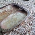 Rusztikus hárs tál, Dekoráció, Konyhafelszerelés, Tálca, Rusztikus hatású, hársfából faragott tál. Lenolajjal felületkezelt. 31x28 cm, Meska