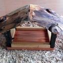 madáretető, Otthon, lakberendezés, Mindenmás, Fából készült madáretető. Lenolajjal felületkezelve., Meska