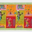 Falvédő, Baba-mama-gyerek, Gyerekszoba, Falvédő, takaró, Jó minőségű pamutvászonból, vatelinnel bélelve készítettem a falvédőt. Méret:200X73 cm Hátsó bújtató..., Meska