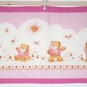 Textil kép, Baba-mama-gyerek, Gyerekszoba, Baba falikép, Méret:78X47 cm A falvédőkhöz hasonlóan készült, vatelinnel béleltem., Meska