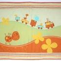 Textil kép, Baba-mama-gyerek, Gyerekszoba, Baba falikép, Méret:80X50 A falvédőkhöz hasonlóan készült, vatelinnel béleltem., Meska