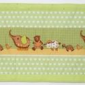 Falvédő, Baba-mama-gyerek, Gyerekszoba, Falvédő, takaró, Jó minőségű pamutvászonból, vatelinnel bélelve készítettem a falvédőt. Méret:200X70 cm H..., Meska