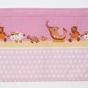 Falvédő, Baba-mama-gyerek, Gyerekszoba, Falvédő, takaró, Jó minőségű pamutvászonból, vatelinnel bélelve készítettem a falvédőt. Méret:200X62 cm H..., Meska