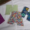 Textil betű, Baba-mama-gyerek, Gyerekszoba, Mobildísz, függődísz, A színes maradék anyagok felhasználásával készült egy bőröndnyi textil betű. Hogy tartása is legyen,..., Meska