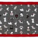 Falvédő, Baba-mama-gyerek, Gyerekszoba, Falvédő, takaró, Jó minőségű pamutvászonból, vatelinnel bélelve készítettem a falvédőt. Méret:200x677cm Hátsó bújtató..., Meska