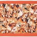Falvédő, Baba-mama-gyerek, Gyerekszoba, Falvédő, takaró, Jó minőségű pamutvászonból, vatelinnel bélelve készítettem a falvédőt. Méret:200X70cm Hátsó bújtatók..., Meska