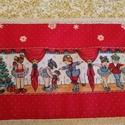 Karácsonyi asztali futó, Dekoráció, Otthon, lakberendezés, Ünnepi dekoráció, Méret: 130X60 cm, Meska