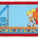 Falvédő, Gyerek & játék, Gyerekszoba, Falvédő, takaró, Jó minőségű pamutvászonból, vatelinnel bélelve készítettem a falvédőt. Méret:200x72 cm Hátsó bújtató..., Meska