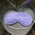 Alvó szemmaszk, Pamutvászonból készült alvó maszk , levendula...