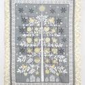 Adventi naptár,  Adventi naptár 6x6 cm-es zsebekkel. Méret:65x87...