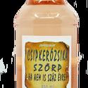 Csipkerózsika szörp (500 ml), Összetevők: víz, cukor, levendulavirág, citrom...