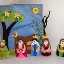A békakirály - interaktív könyv, mesekönyv, bábok, Játék, Társasjáték, Báb, Játékfigura, A békakirály című Grimm mese a kicsi gyermekek számára kedves történet. A szép királylány..., Meska